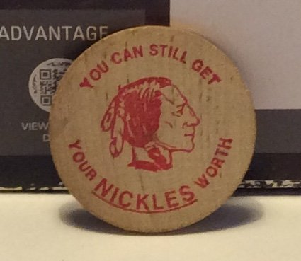 You Can Still Get Your Nickles Worth Wooden Nickel